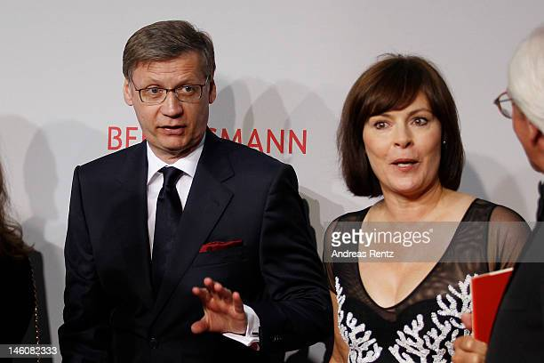 Guenther Jauch and wife Dorothea Sihler-Jauch attend the Rosenball at Hotel Intercontinental on June 9, 2012 in Berlin, Germany.