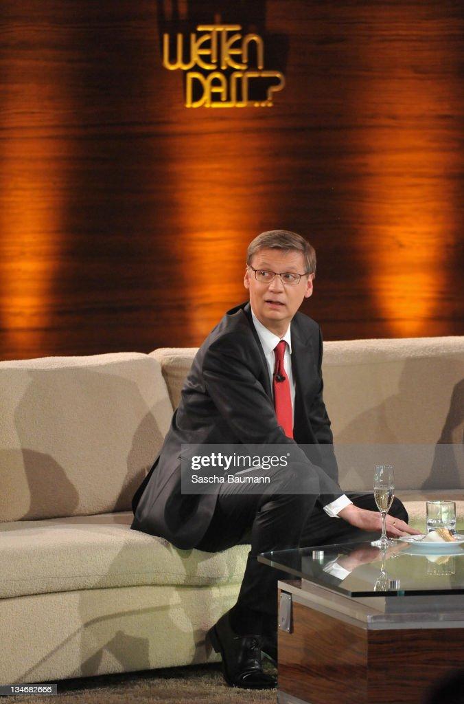 "Thomas Gottschalk Hosts His Final ""Wetten dass...?"" Show"