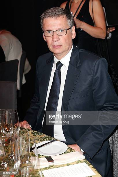 Guenther Jauch attends the Bambi Awards 2013 at Stage Theater on November 14 2013 in Berlin Germany
