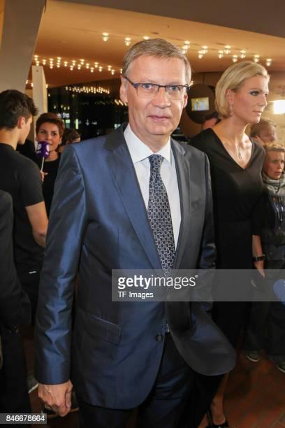Guenther Jauch attends the Deutscher Radiopreis at Elbphilharmonie on September 7 2017 in Hamburg Germany 'n