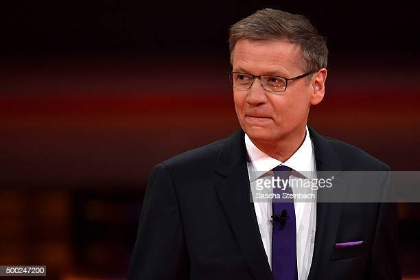 Guenther Jauch attends the television show 2015 Menschen Bilder Emotionen RTL Jahresrueckblick on December 6 2015 in Cologne Germany