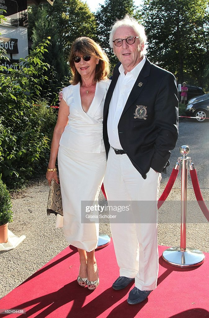 Guenther Maria Halmer and wife Claudia attend the Kaiser Cup 2014 Gala on July 19, 2014 in Bad Griesbach near Passau, Germany.