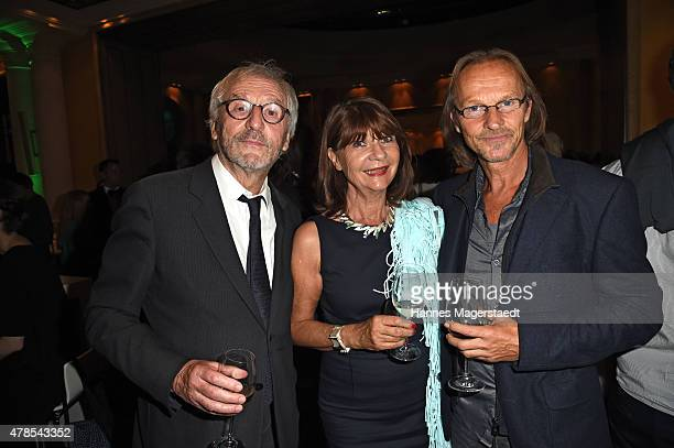 Guenther Maria Halmer Claudia Halmer and Eisi Gulp and attend the Opening Night of the Munich Film Festival 2015 at Bayerischer Hof on June 25 2015...