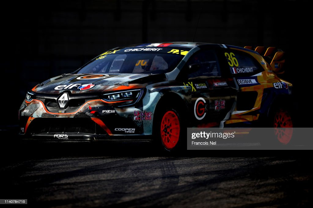Guerlain Chicherit Of France Driving The Renault Megane Rs Rx Gc News Photo Getty Images