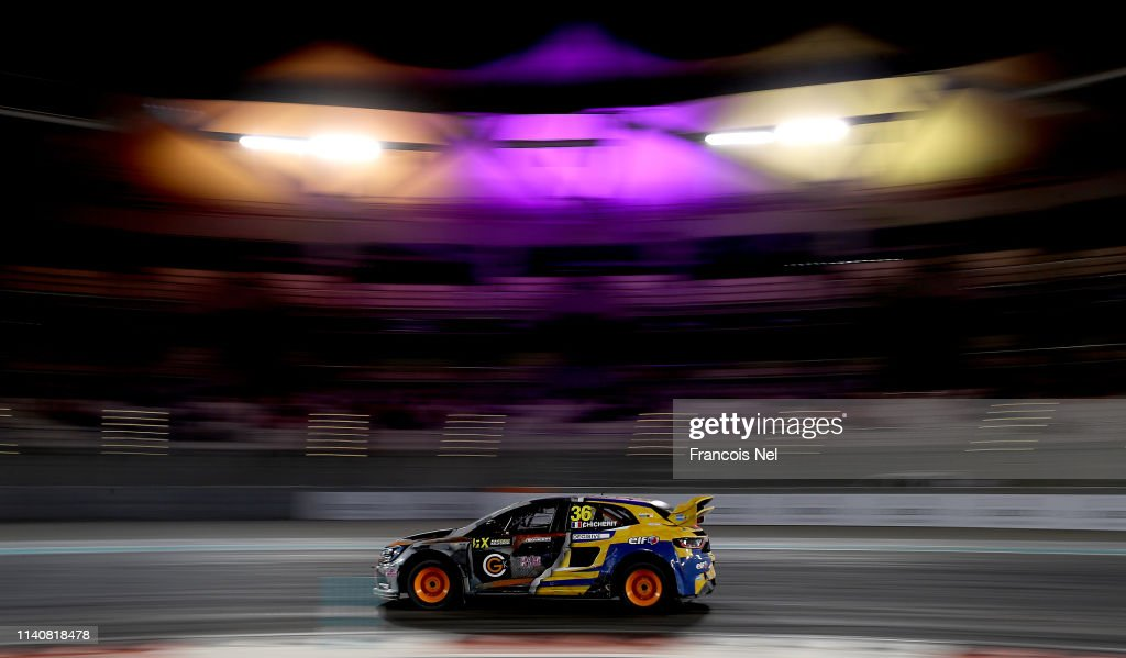 Guerlain Chicherit Of France Driving The Renault Megane Rs Rx Gc Foto Jornalistica Getty Images