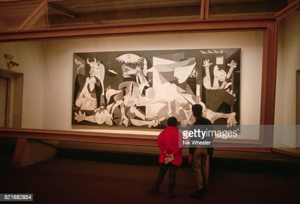 Guernica by Pablo Picasso in Cason del Buen Retiro