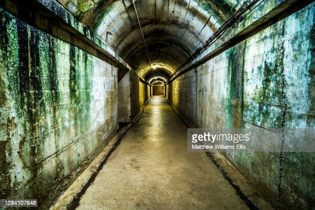 Guernsey Underground German Military Hospital from World War Two, Channel Islands, United Kingdom.
