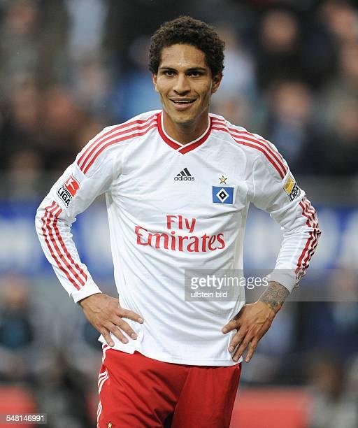 Guerrero Paolo Football Striker Hamburger SV Peru