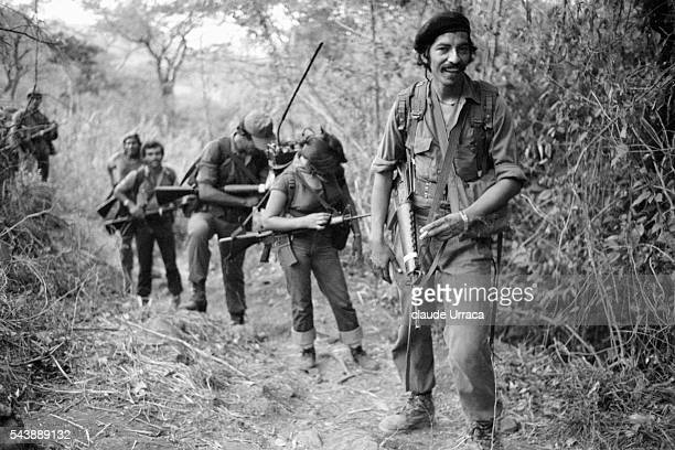 Guerrilla fighters of the PPL during an operation.