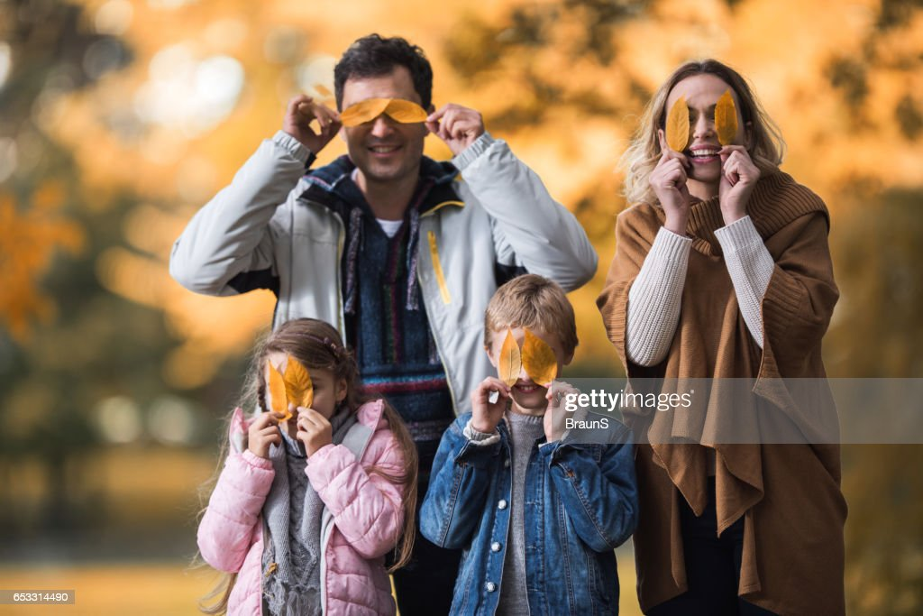 Guess who we are? : Stock Photo