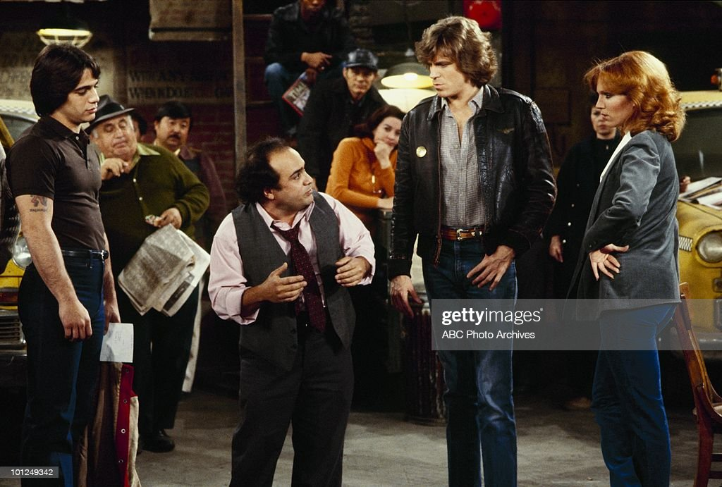 TAXI - 'Guess Who's Coming for Brefnigh' - Airdate January 15, 1980. (Photo by ABC Photo Archives/ABC via Getty Images) TONY
