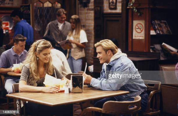 YEARS 'Guess Who's Coming to College' Episode 2 Air Date Pictured Anne Tremko as Leslie Burke MarkPaul Gosselaar as Zack Morris Photo by Margaret...