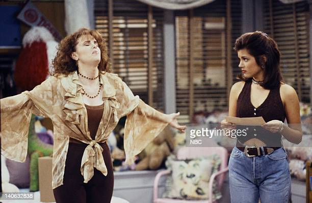YEARS Guess Who's Coming to College Episode 2 Air Date Pictured Kiersten Warren as Alex Tabor Tiffani Thiessen as Kelly Kapowski Photo by Margaret...