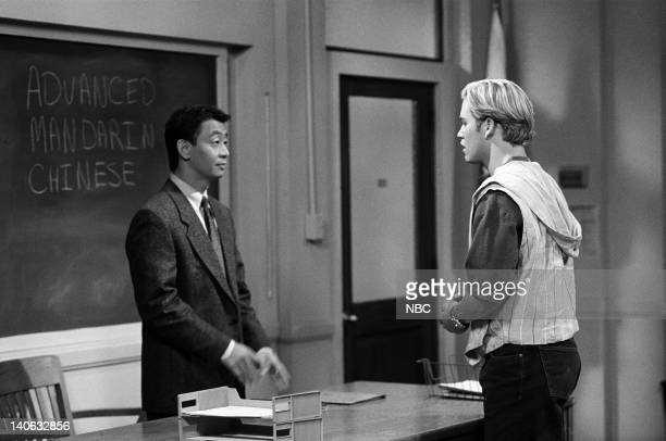 YEARS 'Guess Who's Coming to College' Episode 2 Air Date Pictured George Cheung as Chinese Professor MarkPaul Gosselaar as Zack Morris Photo by...