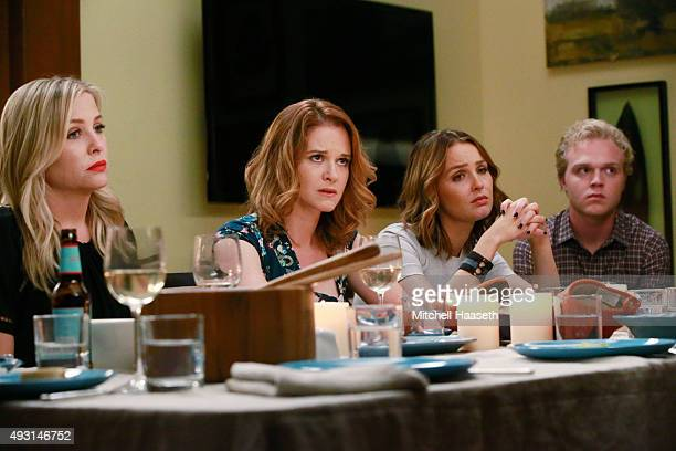 S ANATOMY 'Guess Who's Coming to Dinner' In the midst of the sisters' dinner party Maggie ditches her cooking duties to rush to the hospital...