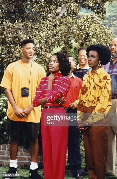 AIR Guess Who's Coming to Marry Episode 6 Pictured Will Smith as William 'Will' Smith Charlayne Woodard as Janice Janet Hubert as Vivian Banks Photo...