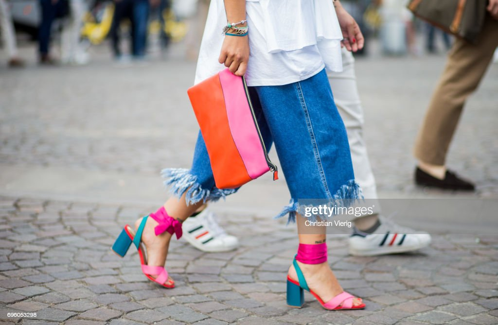 Street Style: June 14 - 92. Pitti Uomo : News Photo