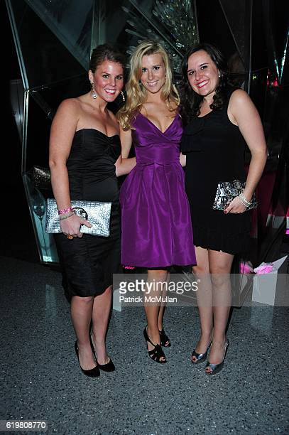 Guest, Abby Manning and Mary Walker Goza attend KEY TO THE CURE 10 Years of Support From The Heart at Top Of The Rock N.Y.C. On October 14, 2008.
