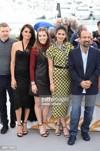 Guest actress Penelope Cruz wearing jewels by Atelier Swarovski Fine Jewelry Carla Campra Sara Salamo and director Asghar Farhadi attend the...