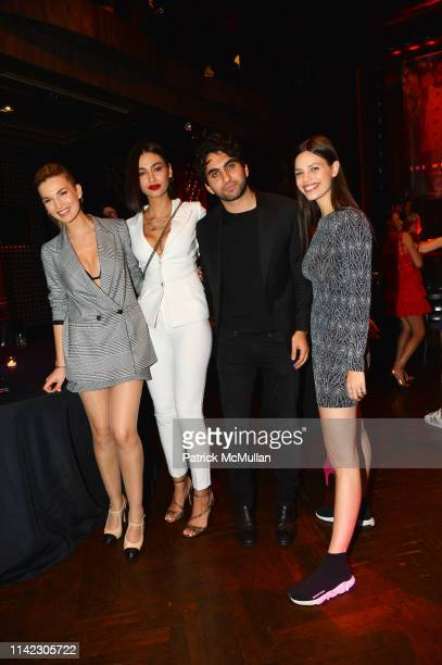 Guest Adrola Dushi Steven Manocherian and Alma Canne attend the Many Hopes Spring Ball 2019 at Edison Ballroom on May 7 2019 in New York City