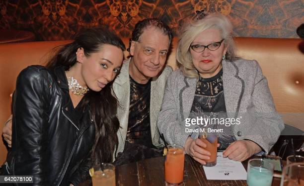 Guest Alan Endfield and Alexis Parr attend the Victoria Grant x Diana Gomez 'Shoot It Up Knock'em Down' party at the Sanctum Soho on February 16 2017...