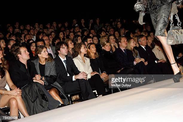 Guest Alice Taglioni Antoine Arnault Marisa Berenson guest Segolene Frere Alessandro Vallarino Gancia Delphine Arnault and Bernard Arnault attend the...