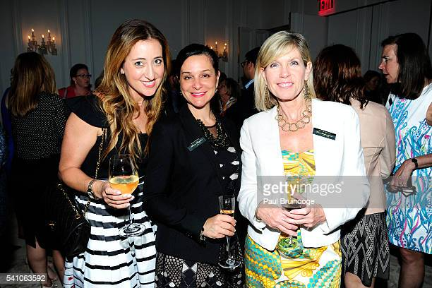 A guest Alissa Cermanski Moylan and Lisa Brannigan attend AIG Private Client Group and Lifestylist Advisory Celebrate the Launch of Couture Coverage...