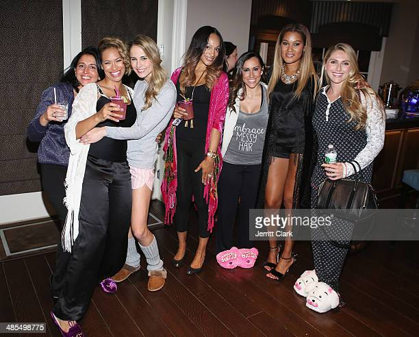guest Amber Sabathia Traci Lynn Johnson Alexis Stoudemire Danielle Conti Elaina Watley and Katie PascoeLadies Night In Benefiting Not For Sale on...