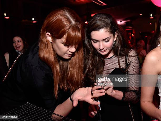 Guest and actress Emily Robinson attend NYLON Young Hollywood Party presented by BCBGeneration at HYDE Sunset Kitchen Cocktails on May 12 2016 in...