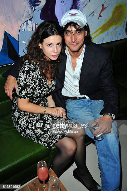 Guest and Adam Shugar attend CARRIE CLOUD ANNABEL VARTANIAN Birthday Celebration at Delicatessen NYC on October 15 2008