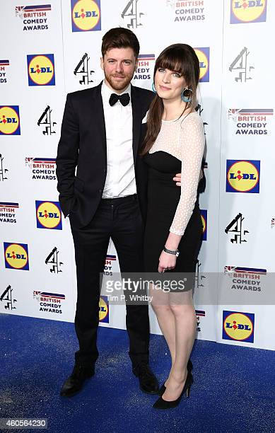 Guest and Aisling Bea attend The British Comedy Awards at Fountain Studios on December 16 2014 in London England