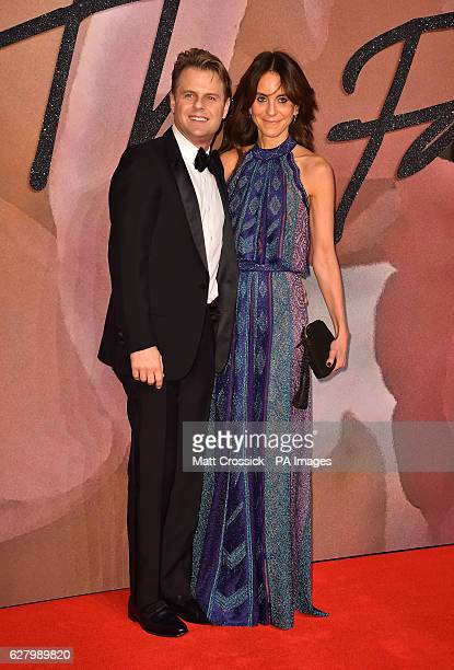 Guest and Alison Loehnis attending The Fashion Awards 2016 at the Royal Albert Hall London PRESS ASSOCIATION Photo Picture date Tuesday December 6th...