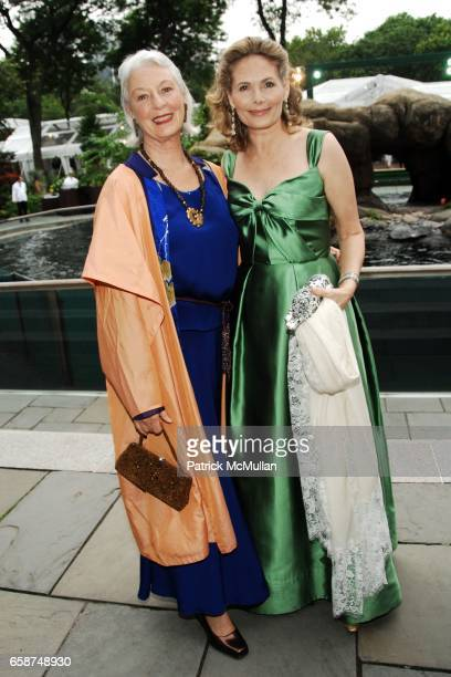 Guest and Allison Stern attend the Wildlife Conservation Society's Central Park Zoo '09 Gala at the Central Park Zoo on June 10 2009 in New York City
