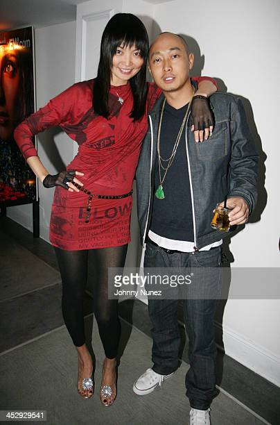 Guest and Bee Nguyen during Entertainment Weekly, Mosely Music Group and Hennessy Present A Toast To Timbaland at BOULEVARD3 in Los Angeles,...