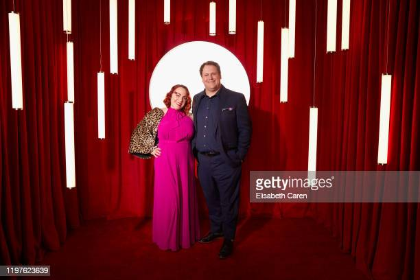Guest and Ben Trivett attend the 22nd Costume Designers Guild Awards at The Beverly Hilton Hotel on January 28 2020 in Beverly Hills California