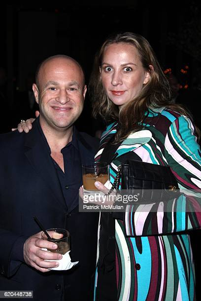 Guest and Beryl Chernof attend The TYCHER FAMILY FOUNDATION Charity Event Benefiting THE FISHER HOUSE FOUNDATION at Church Lounge @ The Tribeca Grand...