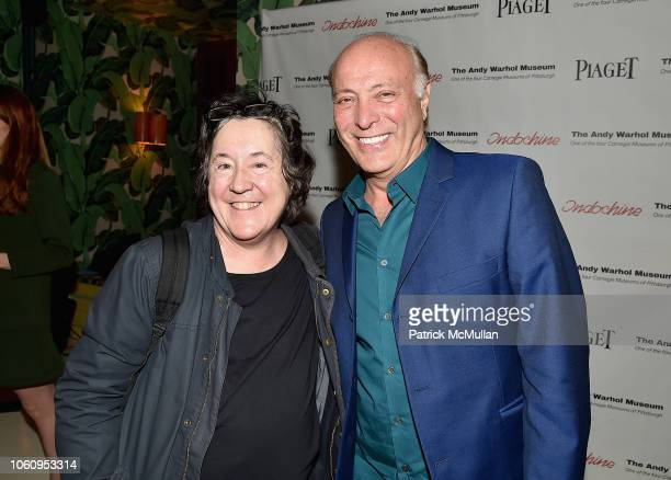Guest and Danny Bennett attend The Andy Warhol Museum's Annual NYC Dinner at Indochine on November 12 2018 in New York New York
