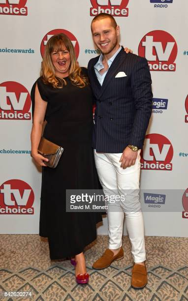 Guest and Danny Walters attend the TV Choice Awards at The Dorchester on September 4 2017 in London England