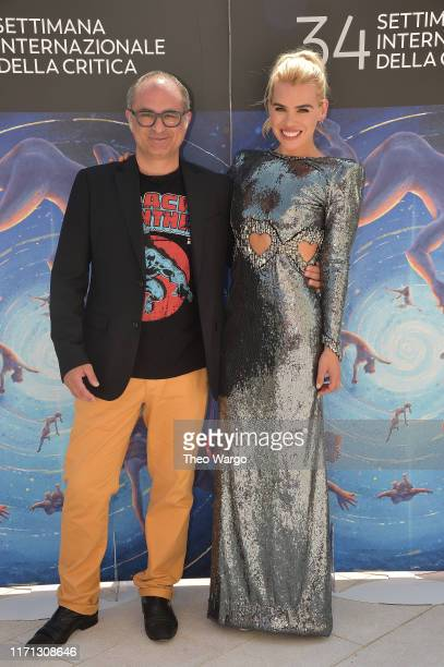 "Guest and Director Billie Piper attend the ""Rare Beasts"" Photocall at the 76th Venice Film Festival on August 31, 2019 in Venice, Italy."