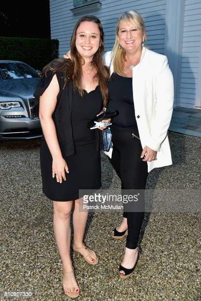 Katie Manko and Ellie Manko attend Katrina and Don Peebles Host NY Mission Society Summer Cocktails at Private Residence on July 7 2017 in...