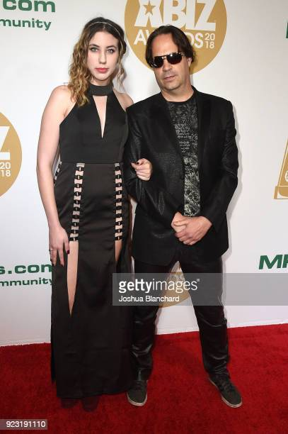 Guest and Eric John attend the 2018 XBIZ Awards on January 18 2018 in Los Angeles California