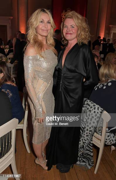 guest and Erin Morris attend The Lord Mayor Of Westminster's 'Under The Painted Sky' Gala in support of YoungMinds and Place2Be at Banqueting House...