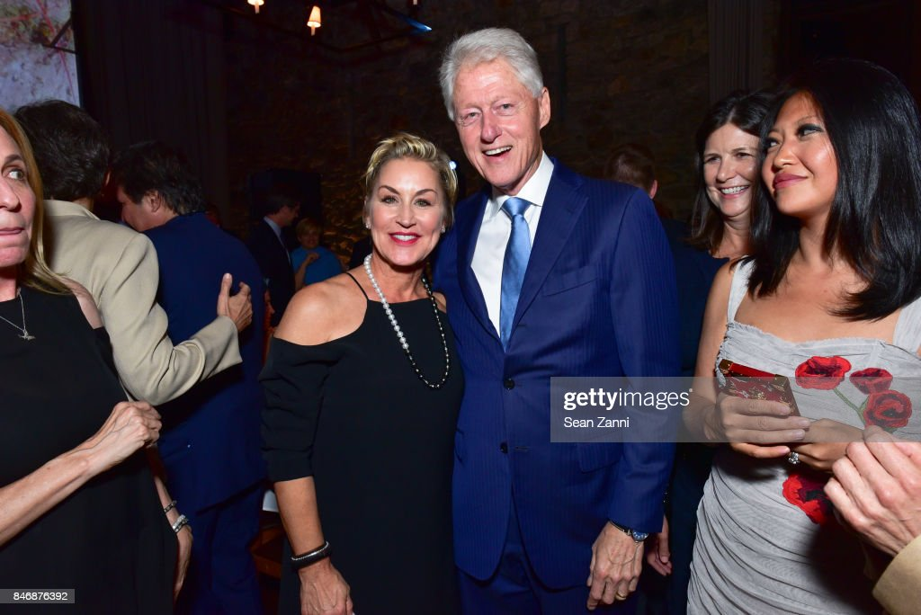 Guest and Former U.S. President Bill Clinton attend the Oceana New York Gala at Blue Hill at Stone Barns on September 13, 2017 in Tarrytown, New York.