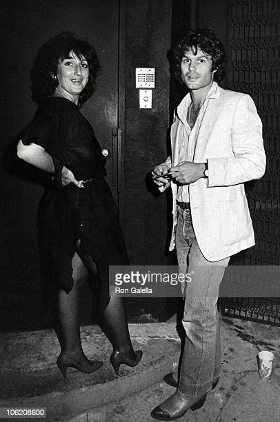 guest and Harry Hamlin during Harry Hamlin Sighting at On the Rox April 26 1983 at On the Rox in Hollywood California United States