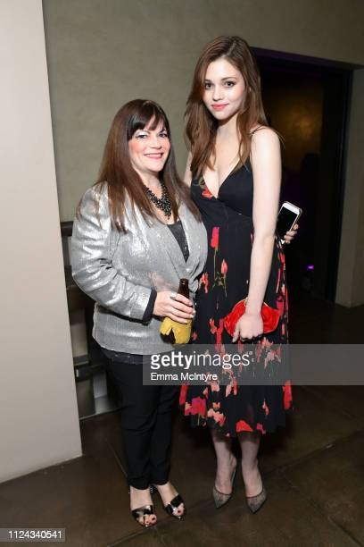 Guest and India Eisley attend the I Am the Night Influencer Junket on January 23 2019 in Los Angeles California 484192