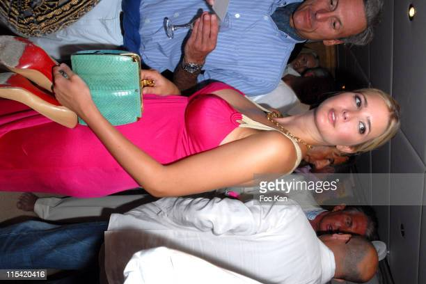 A Guest and Ivanka Trump during Denise Rich's Annual Summer Party Inside in St Tropez France