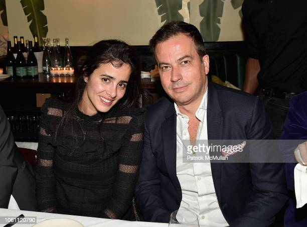 Guest and John Melick attend The Andy Warhol Museum's Annual NYC Dinner at Indochine on November 12 2018 in New York New York