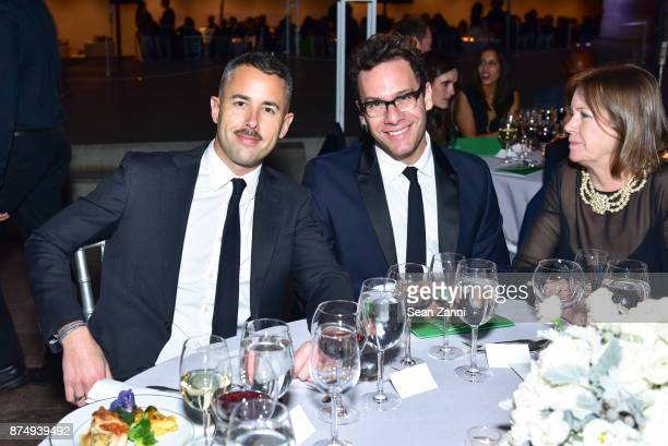 Guest and John Reinish attend The Aga Khan Foundation Gala at The Metropolitan Museum of Art on November 15 2017 in New York City