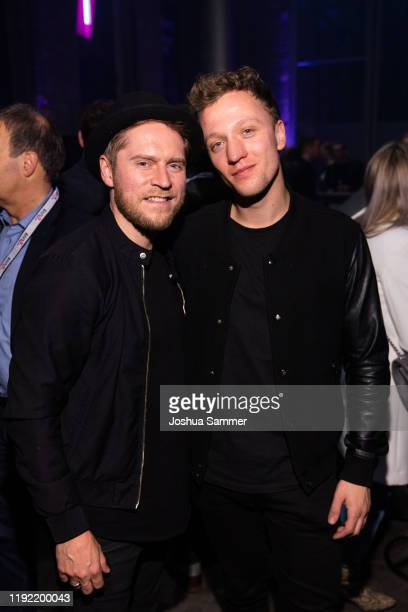 Guest and Joris are seen during the 1Live Krone radio award at Jahrhunderthalle on December 05 2019 in Bochum Germany