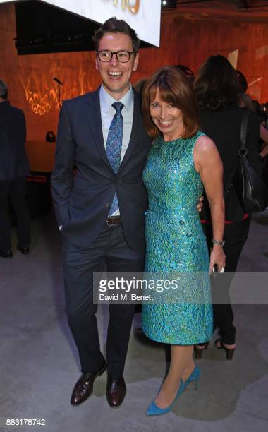 Guest and Kay Burley attend The London Evening Standard's Progress 1000 London's Most Influential People in partnership with Citi on October 19 2017...